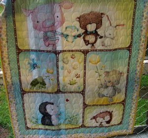 snuggles and friends baby quilt